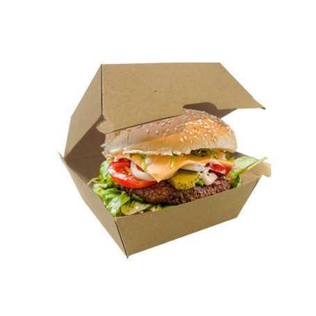 Boîte Burger - Papier Kraft - Vente à  emporter et Snack