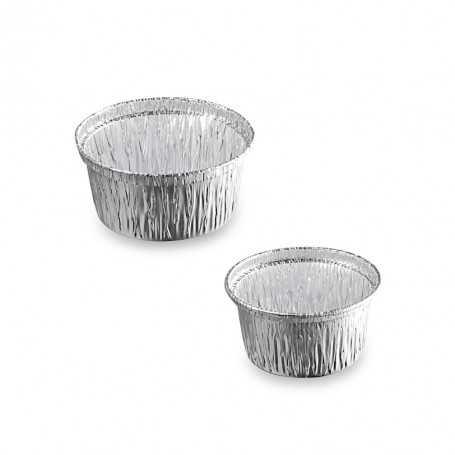 Godets aluminium - Godets pour Pâtisserie - Godets à Cupcake