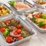 Plat gastronome aluminium