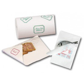 Papier ingraissable - Papier chacurterie - Papier Poisson - Papier alimentaire apte au contact alimentaire