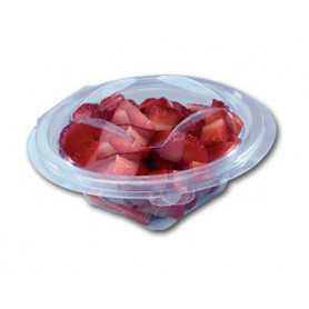 Bols salade transparents - Bol salade vente-à-emporter - bol salade de fruit - bol salade de crudités
