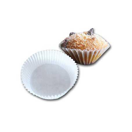 Caissette papier plissé - caissette pâtissière ronde pour cuisson