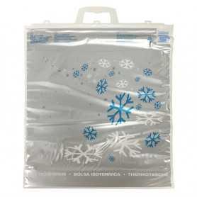 Sac isotherme à étoiles - sac cabas course pour congélation -  sac emballage produits congelés et frais