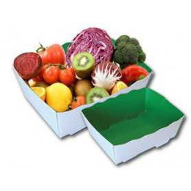 Caissette Primeur Fruits et légumes - Boîte à fruits et légumes - Barquette Légumes et Fruits Primeurs Maraîchers.