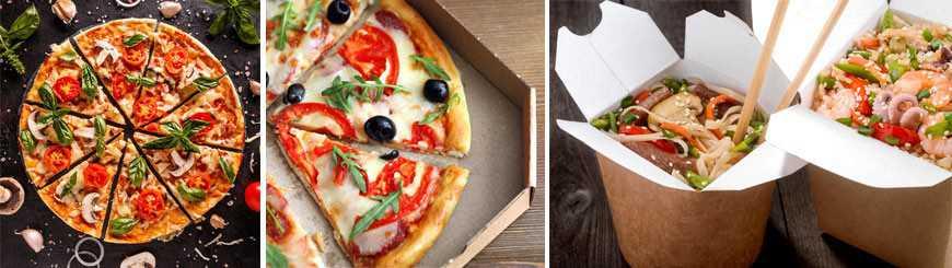 Emballage Pizza - Pâtes à Emporter - EmballageFuté