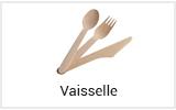 Vaisselle jetable restauration rapide vente à emporter